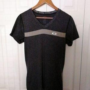 Oakley gray knit shirt